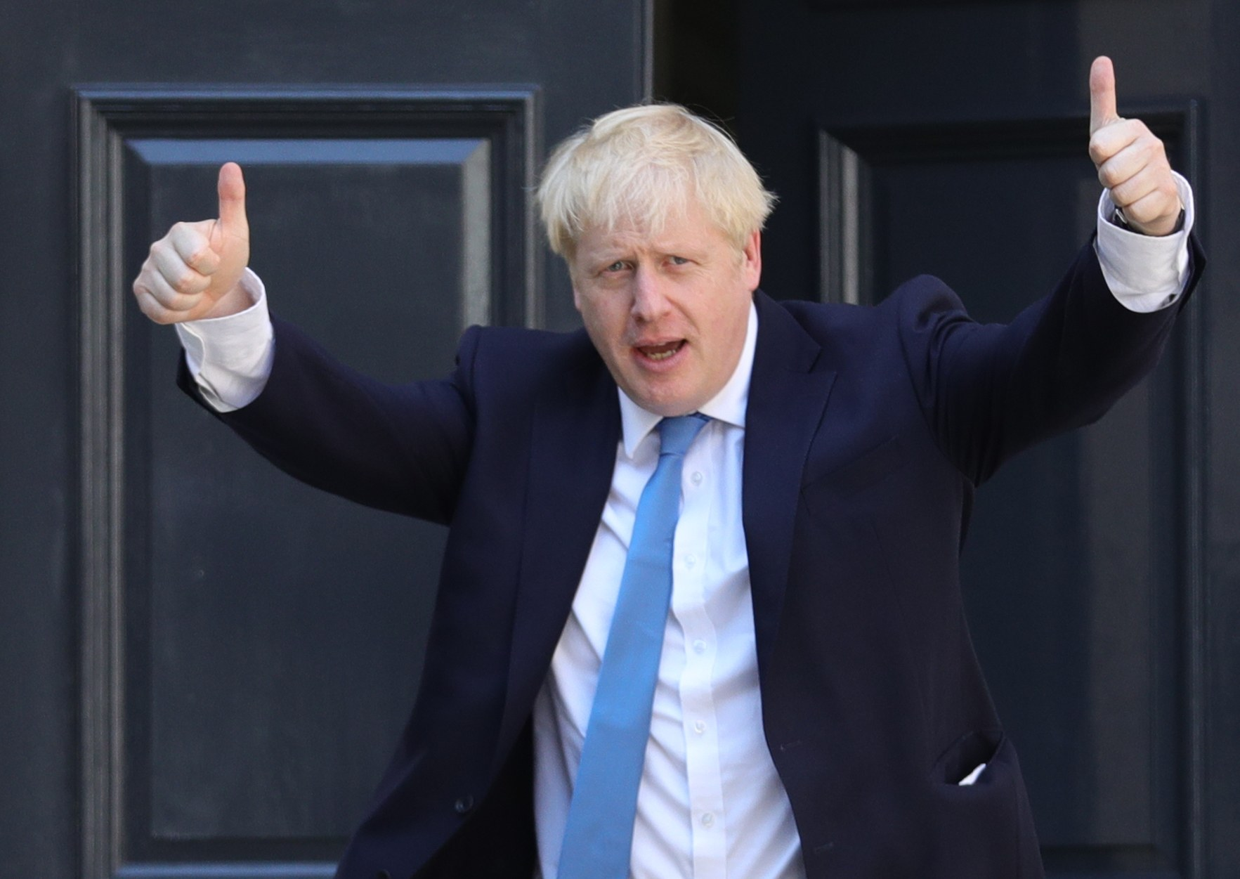 "We'll leave the EU yesterday,"" insists Johnson 